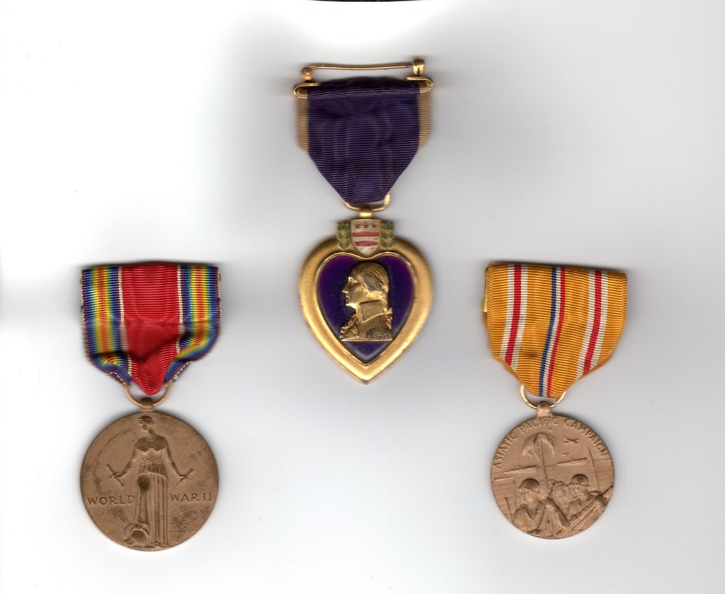 James Joseph Hubert medals